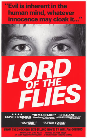 examples of verbal irony in lord of the flies