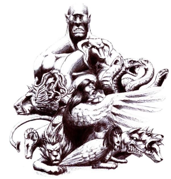 Greek Mythology Tattoos
